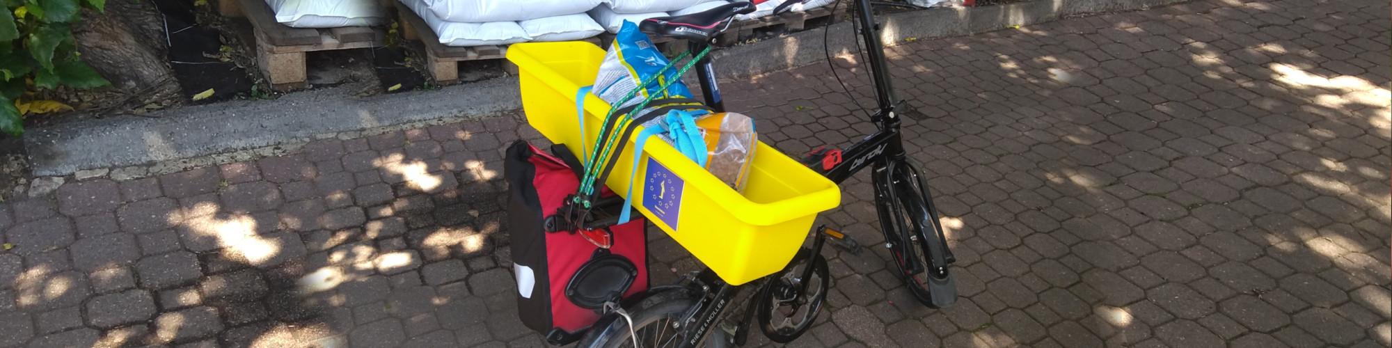 Beedabei-Fahrrad-Abholung